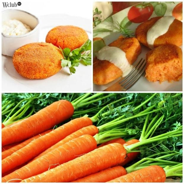 Ингредиенты: 4 небольшие морковки; 3 ст.л. овсяных хлопьев; 2 ст.л. муки; 2 ст.л. сахара; немного сливочного масла; соль – по вкусу.  Приступаем к приготовлению морковных котлет: Морковь тщательно промойте под проточной водой и очистите. Натрите ее на мелкой терке. Затем отожмите морковную массу, чтобы избавиться от выделившегося сока. Добавьте в фарш остальные ингредиенты: овсяные хлопья, сливочное масло, муку, сахар и соль.