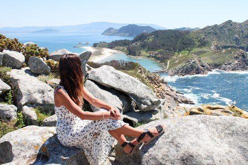 Cíes Islands, Spain <3 Have to visit!