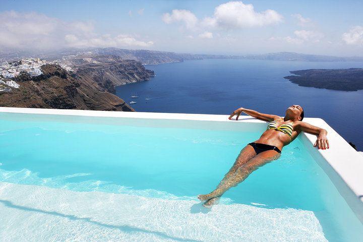 Alexander Villas.. The perfect hideaway in Santorini   See More: www.alexander-villas.com