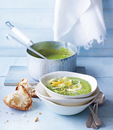 Delicious, light and fresh for a summer dinner with your loved one #soulfulsoups