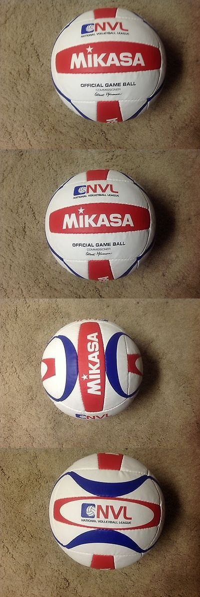 Volleyballs 159132: New Nvl Game Mikasa Avp Beach Volleyball Karch Kiraly. Phil Dalhausser Fivb. -> BUY IT NOW ONLY: $34.99 on eBay!