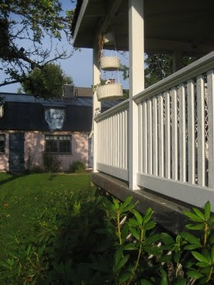 Maria renoverar: Staket på verandan
