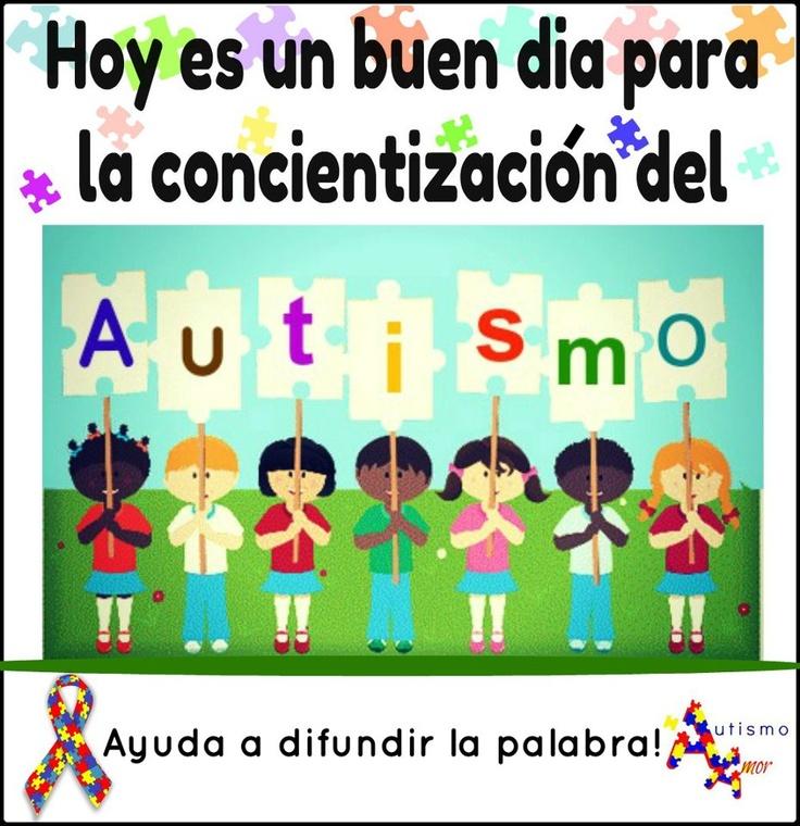 Hoy es un buen día para la concientización del Autismo