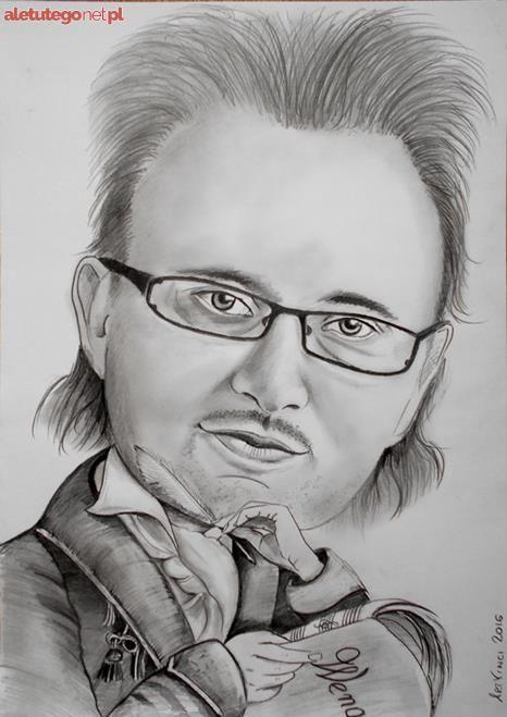 Karykatury Portrety