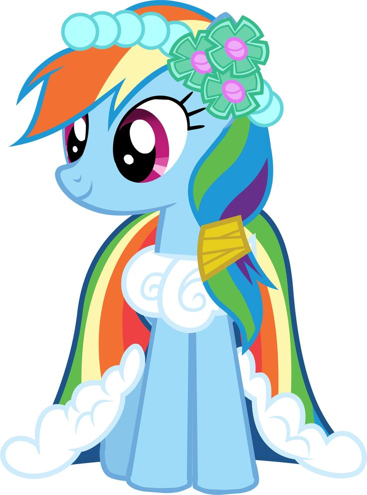 My Little Pony Rainbow Dash Dress Image Rainbow Dash In Her Custom Gala Dress S1e14 Png