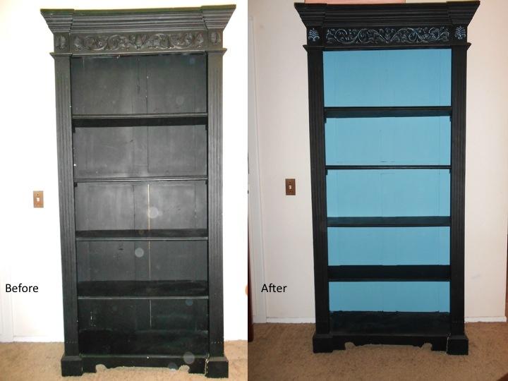 Bookshelf before and after: Bookshelves, Bookshelf
