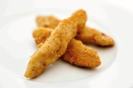 Krůtí kousky v sýrovém těstíčku / Turkey pieces in cheese batter