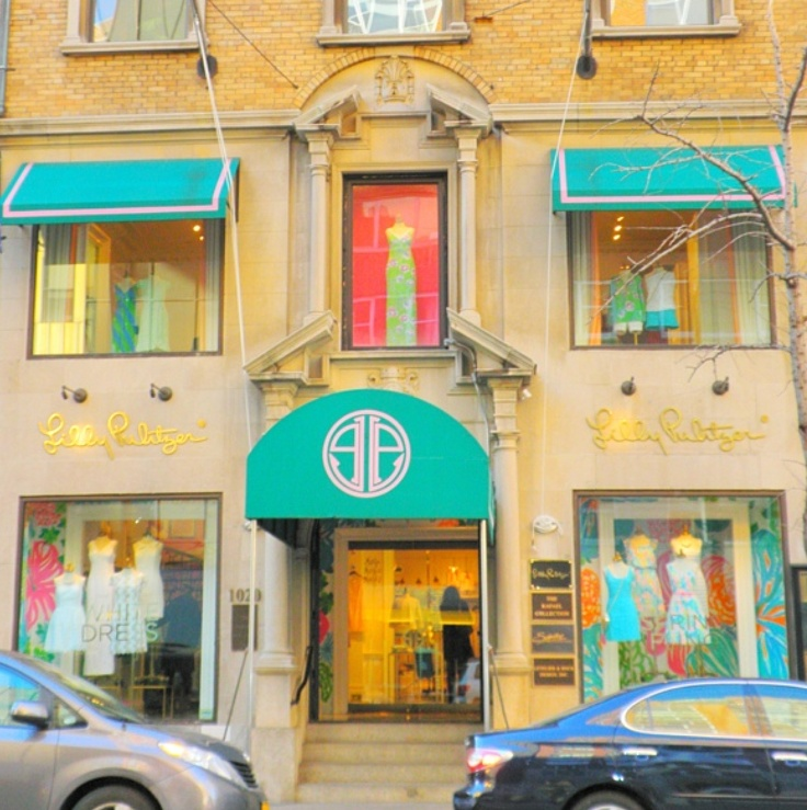 The Lilly Pulitzer Madison Avenue Store got a makeover!