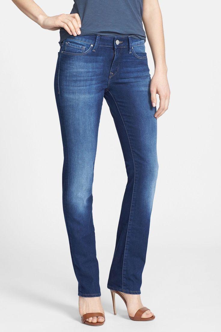 "Kerry Straight Leg Jean - 30-34"" Inseam"