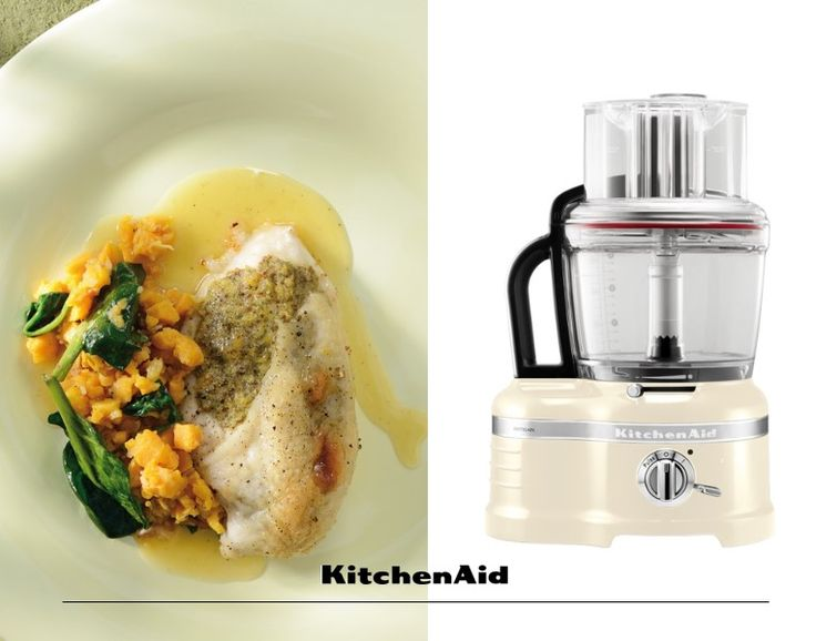 Mustard-roast chicken with sweet potatoes, spinach and honey jus is a great way to end the week. Made with the KitchenAid Food Processor, this hearty meal is just the right thing to end off a busy week. Much love from KitchenAid Africa xx. #KitchenAidAfrica. #HeritageMonth #FoodBringsUsTogether