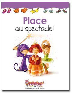 Place au spectacle, Martine Latulipe | La collection Alphabet sur 1000 pattes propose des mini-romans d