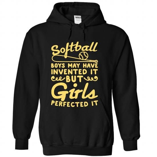 Softball T Shirts, Hoodies, Sweatshirts. BUY NOW ==► https://www.sunfrog.com/Funny/Softball-Black-Hoodie.html?41382