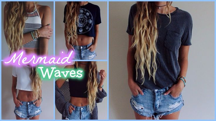Mermaid Waves // Hair Tutorial