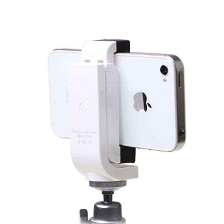 [Isero] iPhone Galaxy Smart Phone Holder Rotate Mount Adapter for Any Tripod