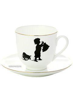 Чашка с блюдцем кофейная, форма