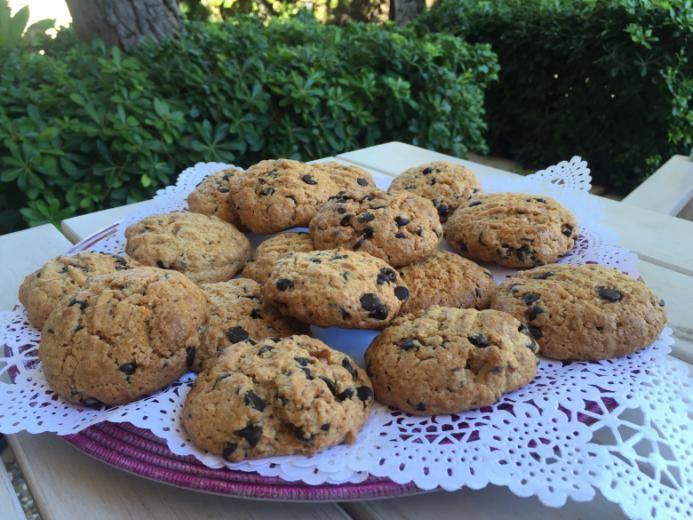 Chocolate Chip Cookies ( Çikolata Parçalı Kurabiye)