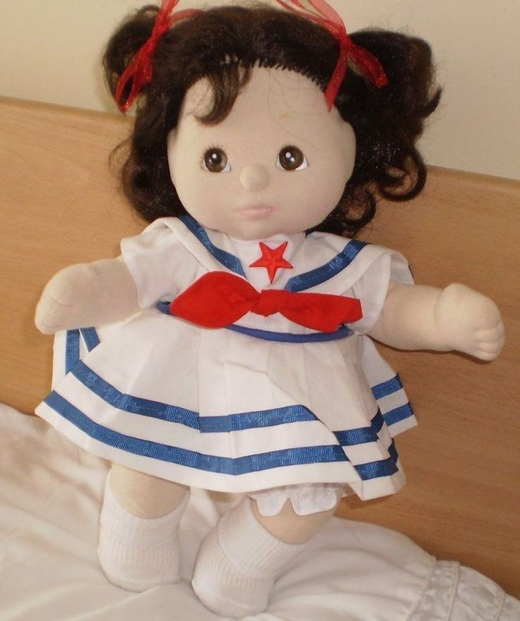GORGEOUS MY CHILD DOLL BRUNETTE GREAT CONDITION 1985 COMES DRESSED CUTE!!!