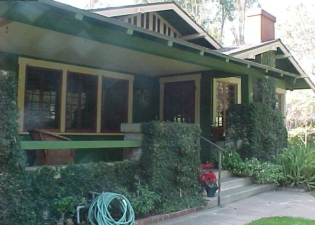 Arts and Crafts Style Bungalow California