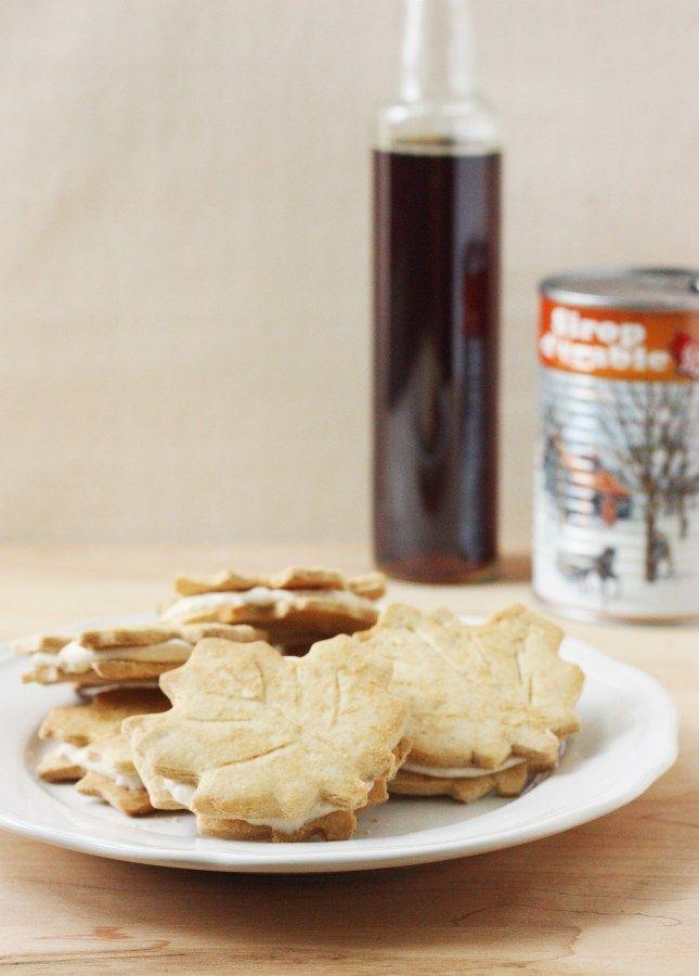 Homemade Maple Leaf Cookies - Food Nouveau