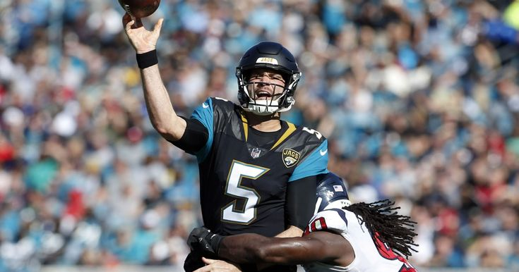 Fantasy football start/sit: Blake Bortles looking like a playoff MVP - USA TODAY