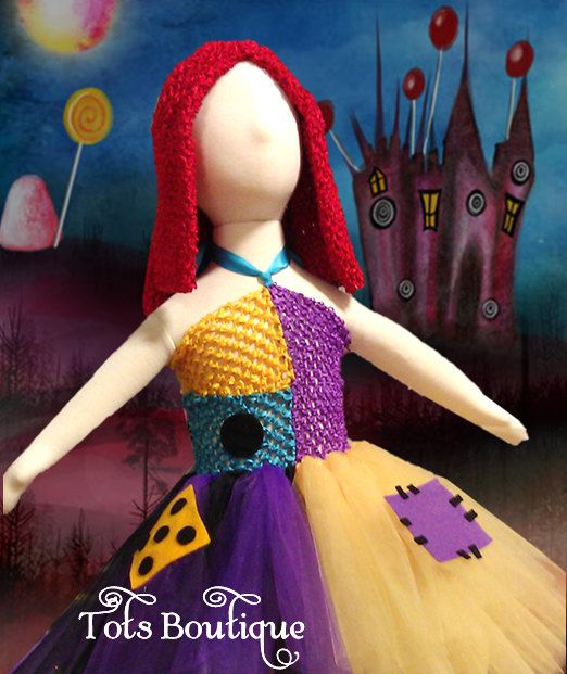 Sally Nightmare Before Christmas Inspired Tutu by TotsBoutique
