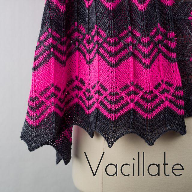 Ravelry: Vacillate pattern by Cindy Garland
