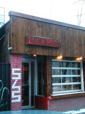 Lola Rosa Cafe - vegetarian!