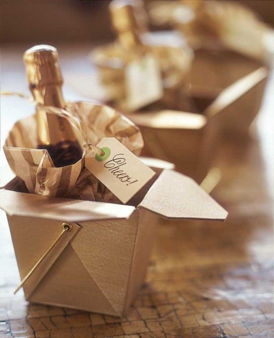 These are the cutest party favors for a NYE Party!