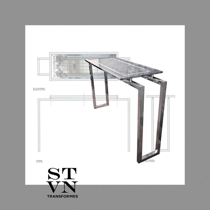 'VITRO' #Console #Table #Τραπεζι #Εισοδου Vitro Glass Surface between Two Infragible Crystals Inox Frame and Base. Upcycling objects into furniture, utility and decorative items, for private or professional use. #furniture #lighiting #accesssories #upcycled #recycled #one_of_a_kind.