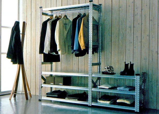 High quality shelves by Metalsistem - UGP  Gardrób polc