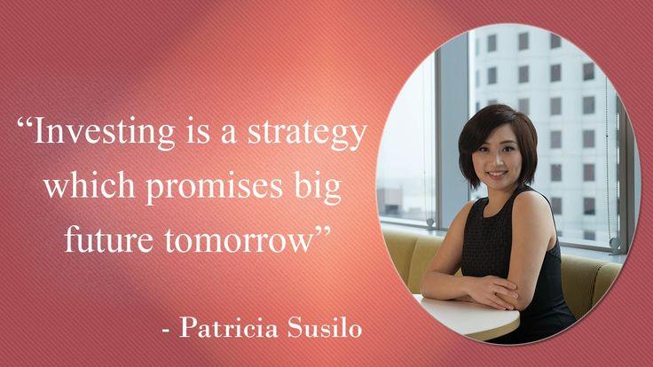 Patricia Susilo: Patricia Susilo - Investor in Real Estate