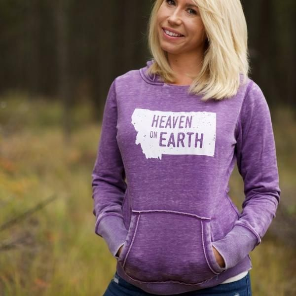 Is Montana your heaven on earth? We sure think so. You will fall in love with this hoodie that has a vintage look and feel. So soft!** Runs small, we suggest s