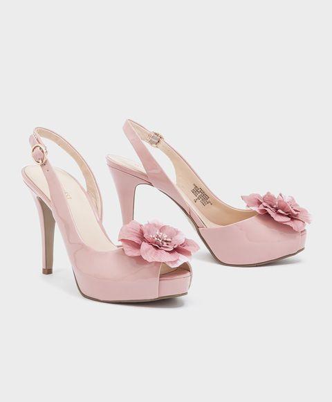 Sandalias color rosa palo NINE WEST