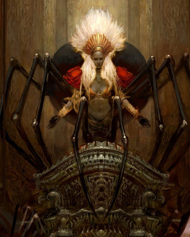 Worship Of The Spider Queen Is Forbidden In Mazroc
