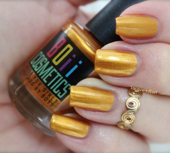 1000+ Ideas About Gold Nail Polish On Pinterest