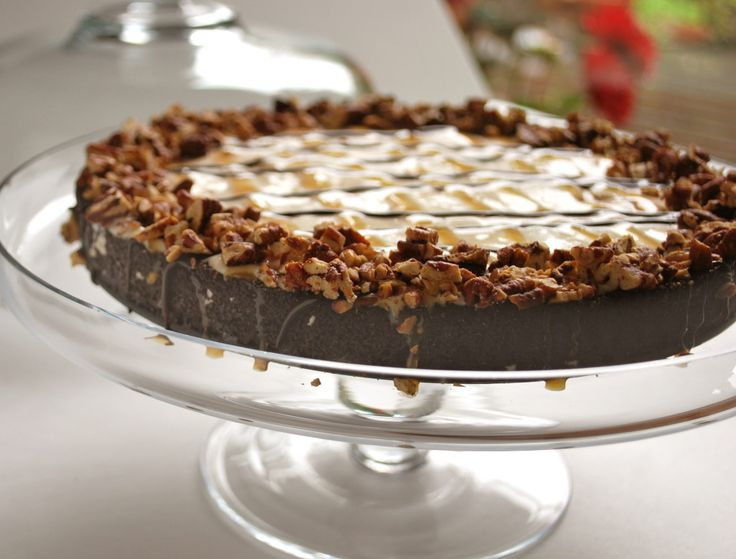 The weather is heating up. Here in Northern California at Pamela's, it has been hot, hot, hot. So we created this Gluten-Free Extreme Chocolate Turtle Ice Cream Pie to help us keep our cool.