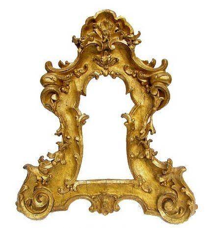 Oltre 25 fantastiche idee su specchi antichi su pinterest - Specchio cornice nera barocca ...