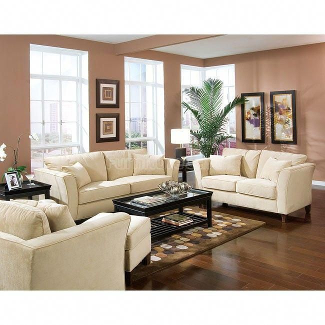 Park Place Cream Living Room Set Couches Living Room Living Room Color Living Room Sets