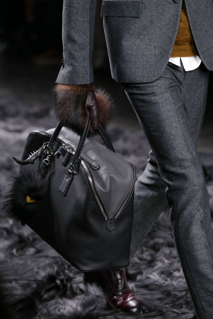 Fendi Men's Fall/Winter 2014-15 Collection Close Up 3