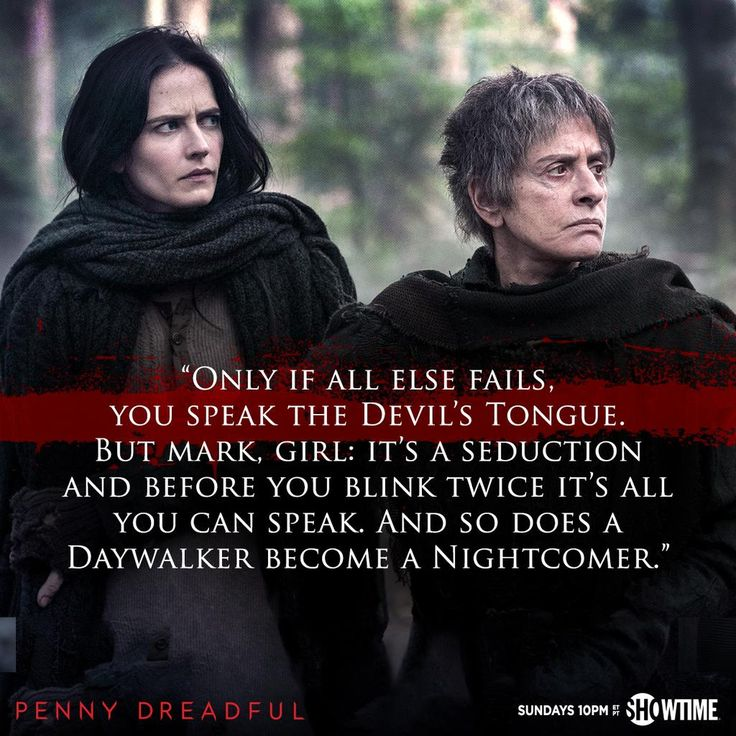 SHO_Penny: Monsters all, are we not? #PennyDreadful #Dreadfuls