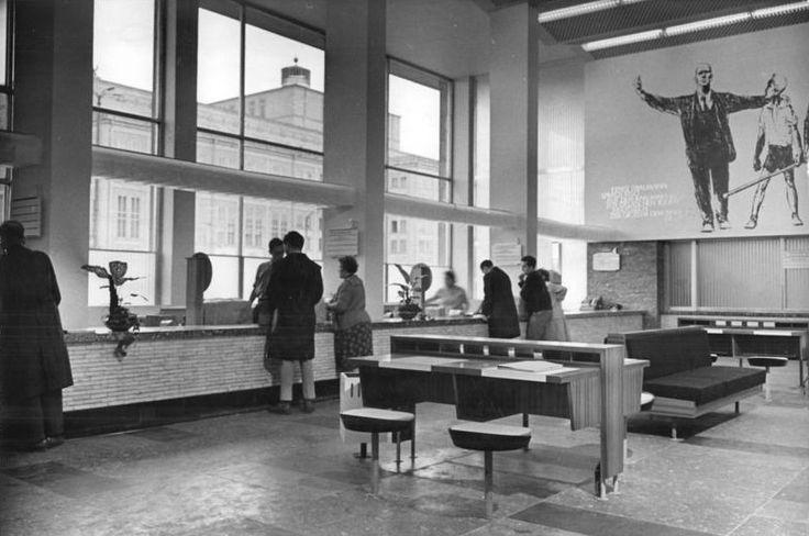 Hauptpost Leipzig. Post Office Leipzig.