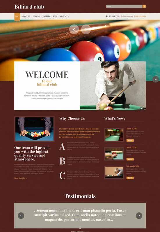 billiards-responsive-wordpress-theme-design