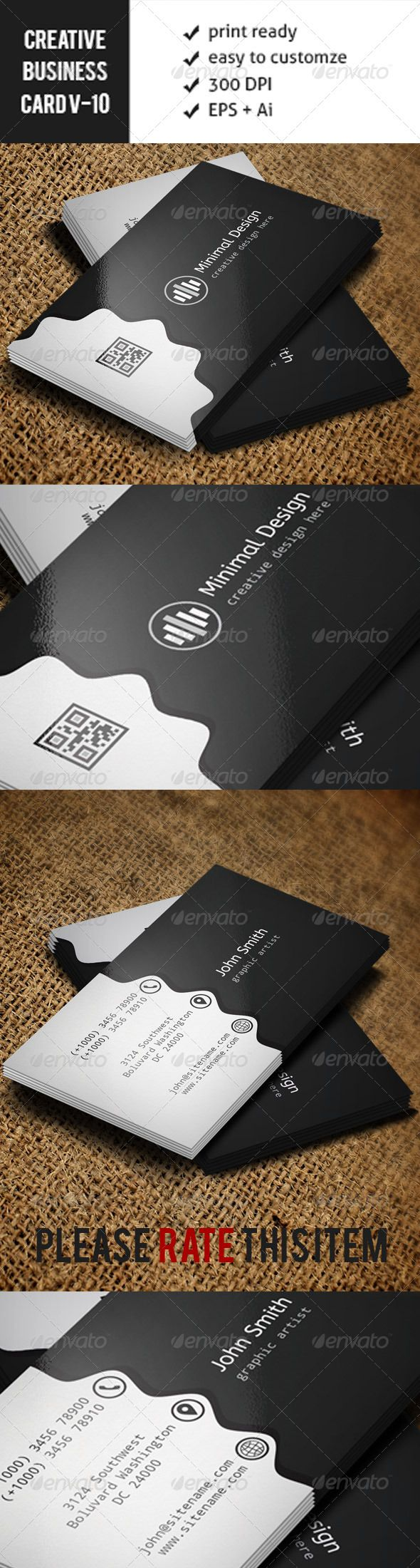 Creative Business Card -VO10  #GraphicRiver        Business Card Features: ======================== Ready to print Horizontal Dimension 300 DPI-CMYK 3.5×2.0 300 DPI CMYK Print Ready! easy to customize Fonts used, and available link (Free 100%) =========================================== abeezee:      .fontsquirrel /fonts/download/abeezee droid-sans-mono:  .fontsquirrel /fonts/download/droid-sans-mono Find Me: ====================================== graphicriver /user/sujonmaji     Created…