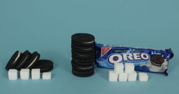 Image result for oreos packaging with nutrition facts
