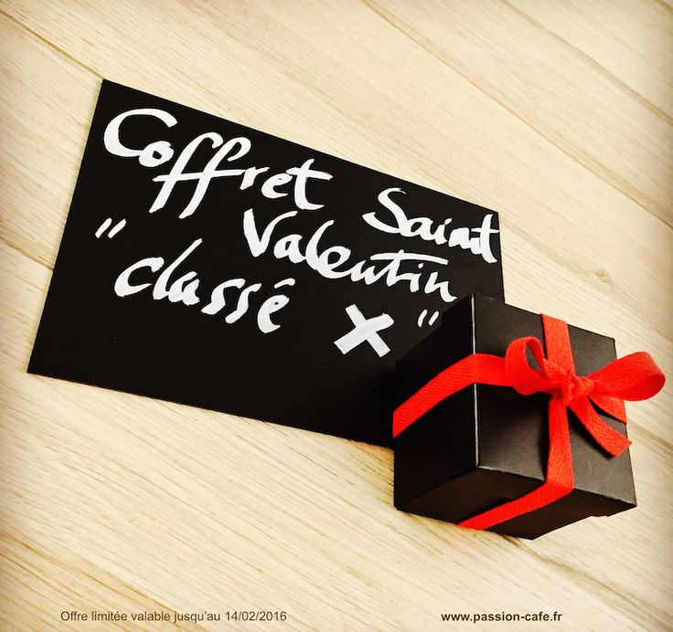 Coffret Saint Valentin - Chocolat classé X