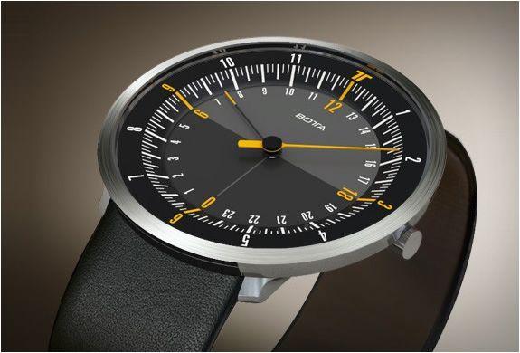 Botta Design Duo -  dual time watch.   Exquisite!