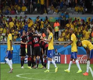 SLAUGHTERED TO SUBMISSION!! Germany rout Brazil 7-1 in record humiliation, storm to finals