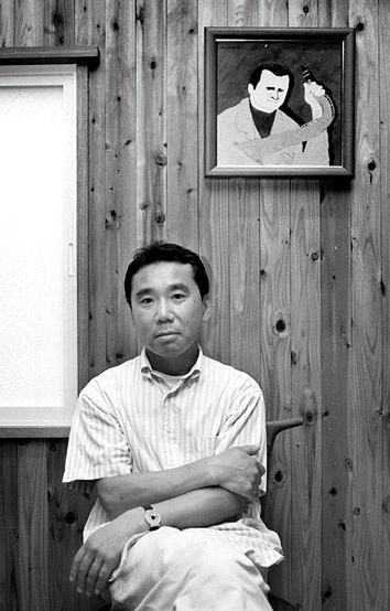 Retrato de Haruki Murakami