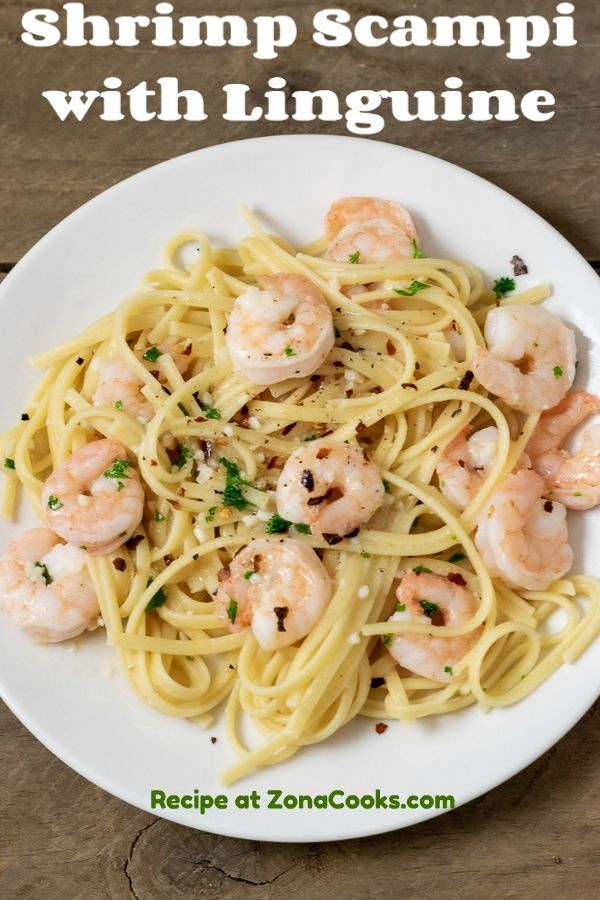 Shrimp Scampi With Linguine Recipe For Two In 2020 Vegan Recipes Easy Recipes Favorite Pasta Recipes