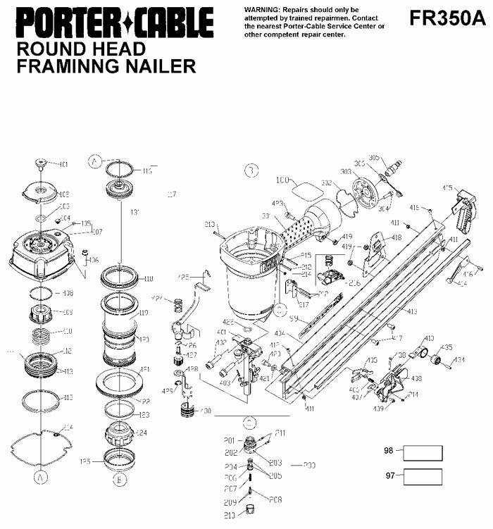 Parts Of The Nail Inspirational Porter Cable Fr350a Round Head Framing Nailer Parts In 2020 Popular Nail Art Nails Nail Designs